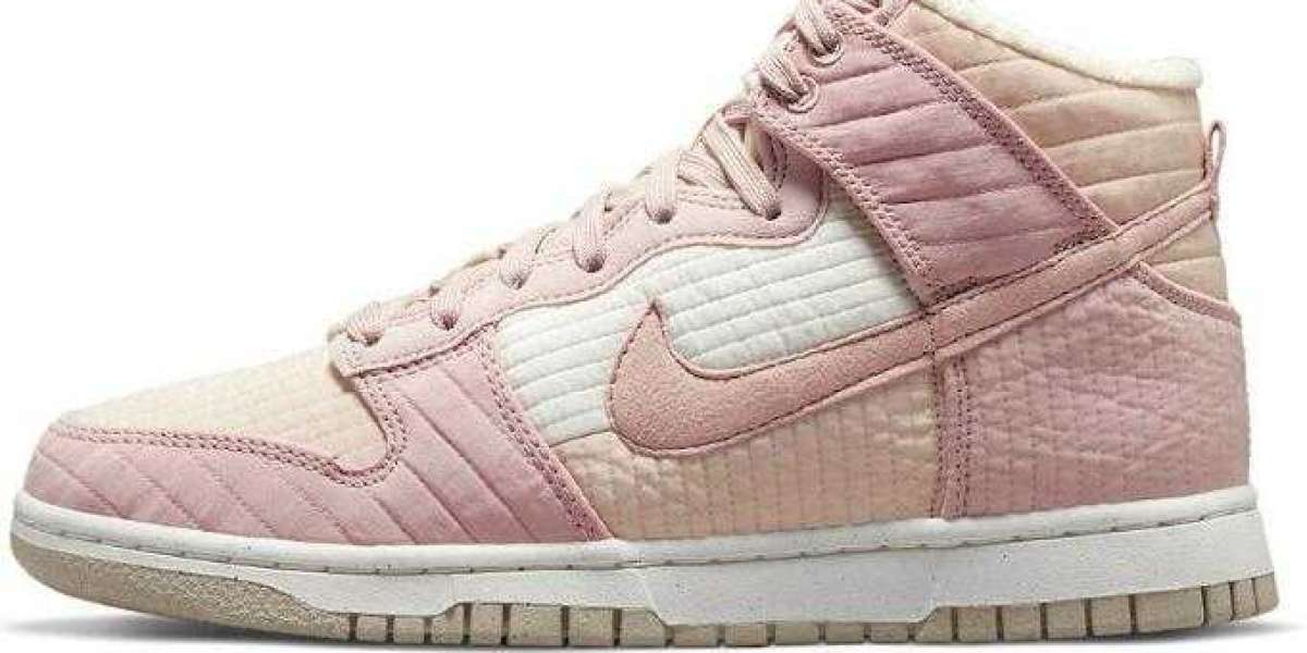 2021 Nike Dunk High Toasty Dress UP With Cherry Blossom Treatment