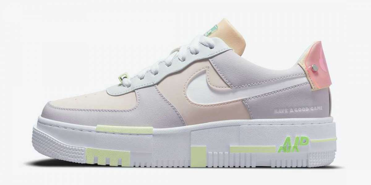 """Newest LPL x Nike Air Force 1 Pixel """"Have A Good Game"""" DO2330-511 Hot Sell!"""